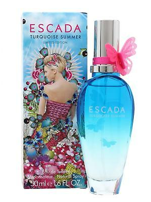 Escada Turquoise Summer toilet water Dames 50 ml | cod. V701118 BE
