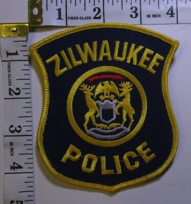 Zilwaukee Michigan Police Department Shoulder Patch