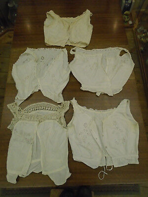 Beautiful Collection Antique Victorian / Edwardian Camisoles Underwear - Lace