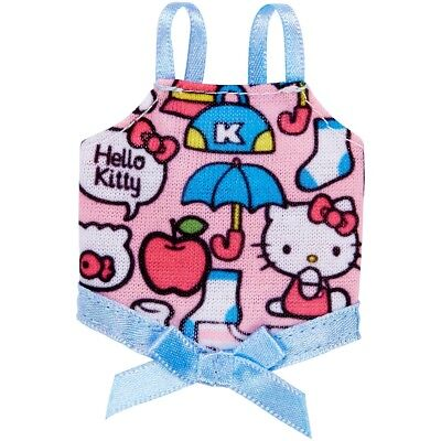 Barbie Hello Kitty Pink Graphic Top With Bow Fashion Pack