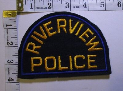 Riverview Michigan Police Department Shoulder Patch