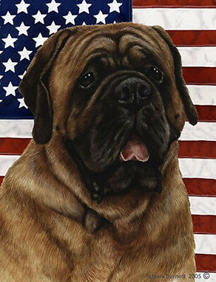Large Indoor/Outdoor Patriotic II Flag - Red Mastiff 32276
