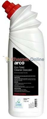 Box of 9 Arco Eco Toilet Cleaner Descaler Perfect For Toilet Use