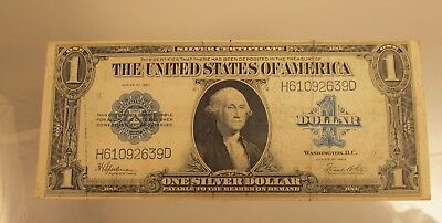 1923 Silver Certificate Large Note   @ A Village Coin Bullion  Auction