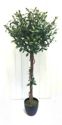 realistic artificial plant 4 foot olive tree silk indoor outdoor Artificial Plants and Trees Indoor