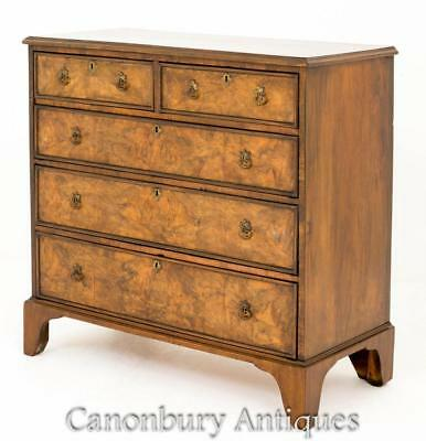 Antique Walnut Chest of Drawers Circa 1800