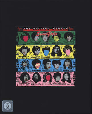 "THE ROLLING STONES - Some Girls [Super Deluxe Edition 2CD/DVD/7""] (CD, Nov-2011)"