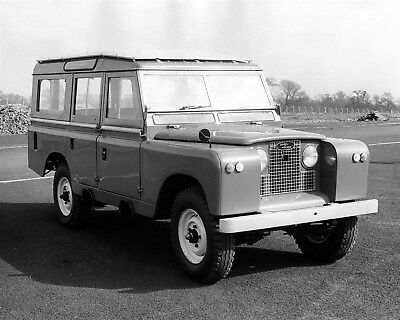 1964 Land Rover Series II 109 Station Wagon Factory Photo cb0280