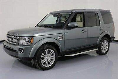 Land Rover LR4 HSE LUX Texas Direct Auto 2015 HSE LUX Used 3L V6 24V Automatic 4X4 SUV Moonroof Premium
