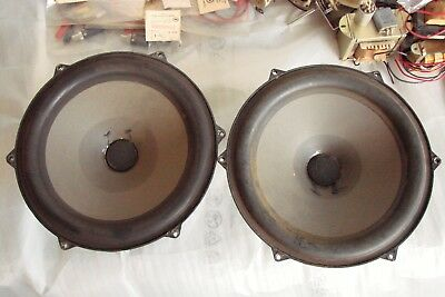 2 DYNACO SEAS VINTAGE SPEAKERS 25TV-EW 8 inch