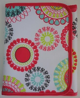 Thirty One 31 Fold-It-Up Organizer - CITRUS MEDALLION w Notepad