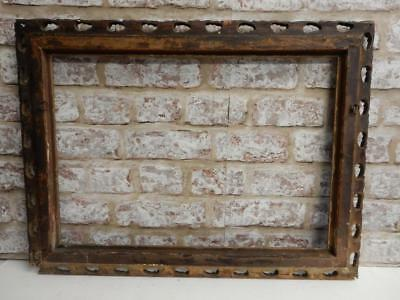 """really old picture frame victoriana fits a 20 inch X 14 """" painting"""