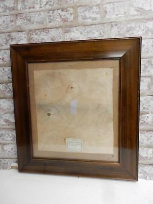"""really old picture frame art deco fits a 15 inch X  14 """" painting"""