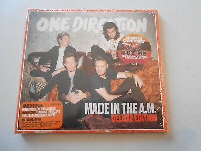 One Direction Made In The A.M. Deluxe Edition CD New Package 4 Extra Tracks