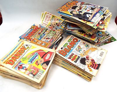 Approx 290X Assorted BEANO & DANDY Comics Dated 1990's/2000's - D09