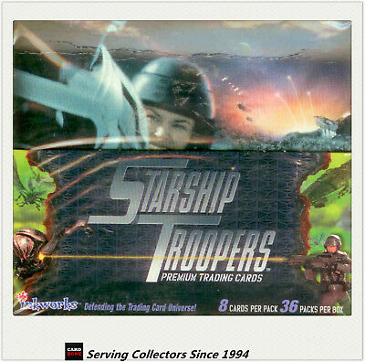1997 Inkworks Starship Troopers Trading Card  Factory Box(36)