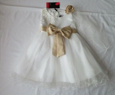 kcl london girls special occassion dress age 24 months nwt