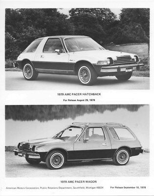 1979 AMC Pacer Hatchback & Pacer Wagon ORIGINAL Factory Photo oua3814