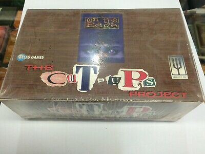 On The Edge Trading Card Game Cut Up Booster Factory Box (60 Packs)