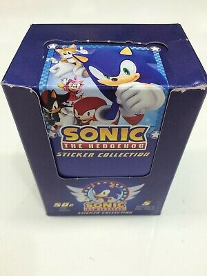 Sonic The Hedgehog Stickers Collection Factory box (50 pks)-Value