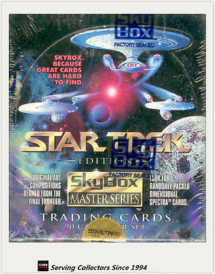 Star Trek 1993 Masters Edition Series 1 Factory Box (36 Packs) (skybox)