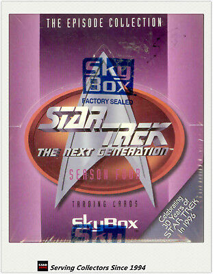 Star Trek The Next Generation Episode Season 4 Factory Box (36 packs)