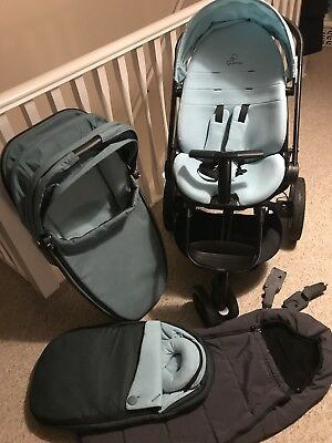 Quinny Moodd Novel Nile Pushchair Carrycot Attachments Footmuff Cocoon