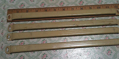"""2 Pair Antique French Door Curtain Rods~Kirsch~12"""" to 21""""~Chic & Shabby"""