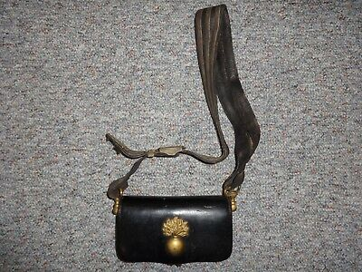 Rare late 18th Century French ammo cartridge box with Grenade badge