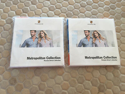 Porsche Drivers Selection Paper Napkins And Brochure Set Of 2 New In Sealed Pack
