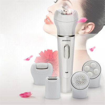 5 in 1 Callus Remover Electric Epilator Tweezer Body Facial Hair Removal Shaver