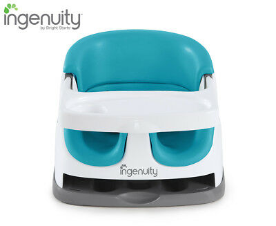 Ingenuity Baby Base 2-in-1 Booster Seat - Blue