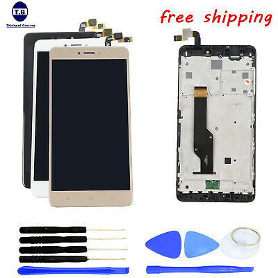LCD Screen Display+Digitizer Touch+Tools +Frame For XIAOMI HONGMI REDMI NOTE 4X