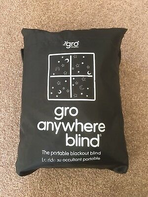 Gro Anywhere Blind - Portable Nursery Bedroom Black Out Blind
