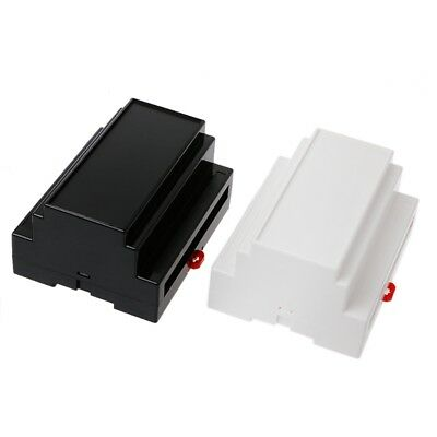 107*87*59mm Electronics Box Project Case DIN Rail PLC Junction Box Plastic
