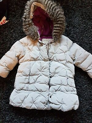 baby girls burberry coat jacket 12 months