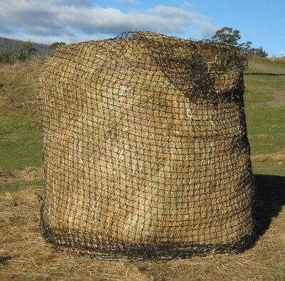 Round Hay Bale Slow Feed Hay Net Heavy Nylon for Horse Cow Sheep Llama Pony Chix