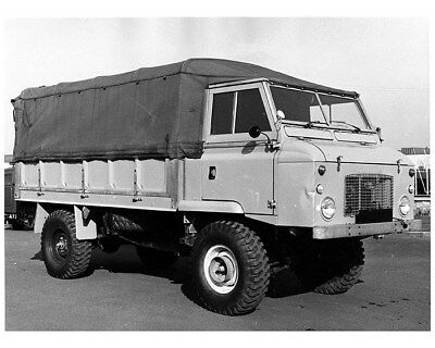 1969 Land Rover 110 Forward Control Factory Photo cb0347