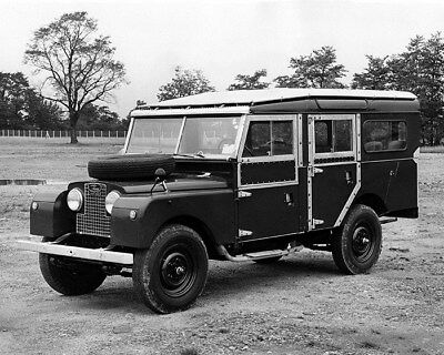 1957 Land Rover Series I 109 Station Wagon Factory Photo cb0346