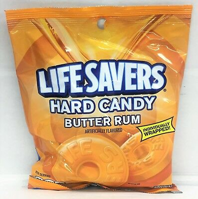 Life Savers Mints Butter Rum Hard Candy 6.25 oz