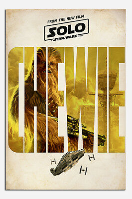 Solo Star Wars Millennium Teaser Poster New Maxi Size 36 x 24 Inch