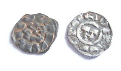 2 silver-coins of the crusaders