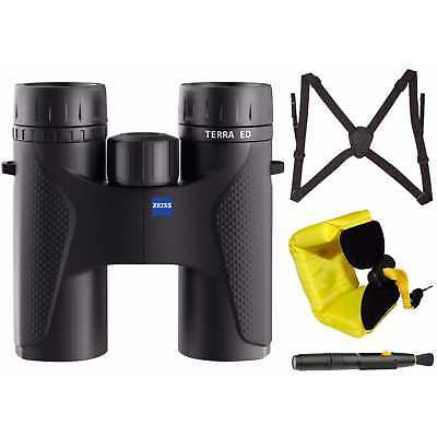 Zeiss Optical 10 x 32 Terra ED Binocular with Harness and Floating Strap
