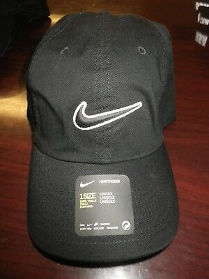 half off 9f53c a1cfa Nike Heritage 86 Swoosh Hat Unisex One Size Fits All Brand New With Tags!