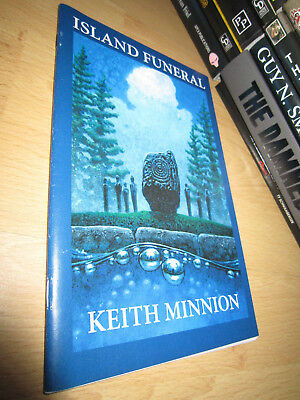 Keith Minnion ISLAND FUNERAL 1st/PB MINT Signed/Limited Cemetery Dance