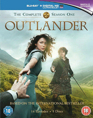 Outlander Complete Season 1 Standard Blu-Ray New Region B