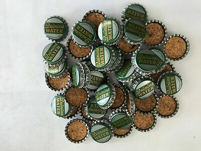 A Lot of 50 Soda Bottle Caps -  Quinine Water