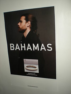 BAHAMAS is afie POSTERS for the tour / album / cd  bitter memories waves LOT