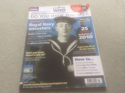 BBC Who Do You Think You Are? Mag - #30 January 2010 - Royal Navy Ancestors