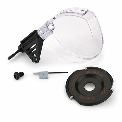 Arbortech Pro-kit Industrial Woodcarver Blade with Clear Polycarbonate Guard